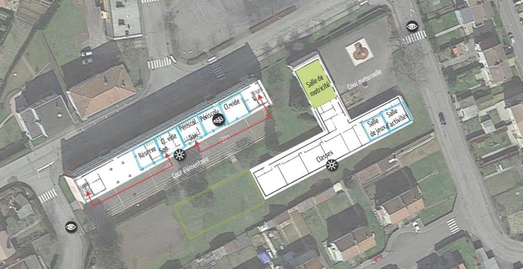 Prospective et programmation des équipements petite enfance, scolaires et périscolaires sur l'OIN Alzette-Belval (57)