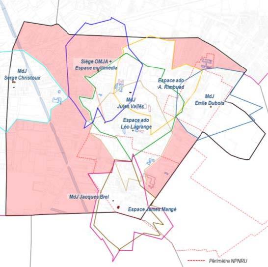 Schéma directeur des  équipements publics de la  ville d'Aubervilliers (93)