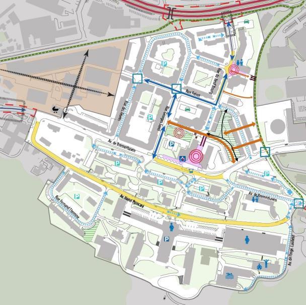 Etude de programmation pour l'aménagement de la place Jean-Moulin et  ses abords à Cherbourg-en-Cotentin (50)