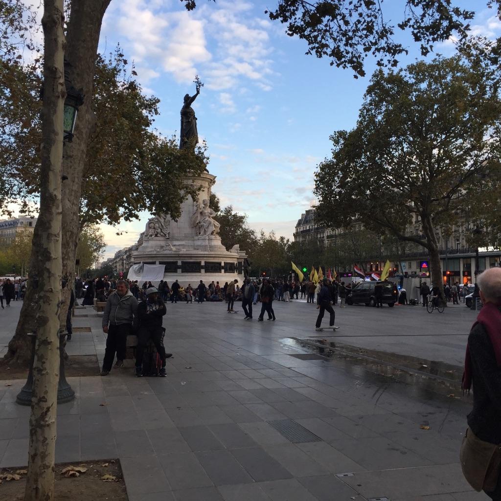 Restructuration de la Place  de la République à Paris