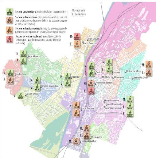 Schéma directeur et programmation architecturale (réhabilitation et neuf) des écoles de Valenciennes (59)