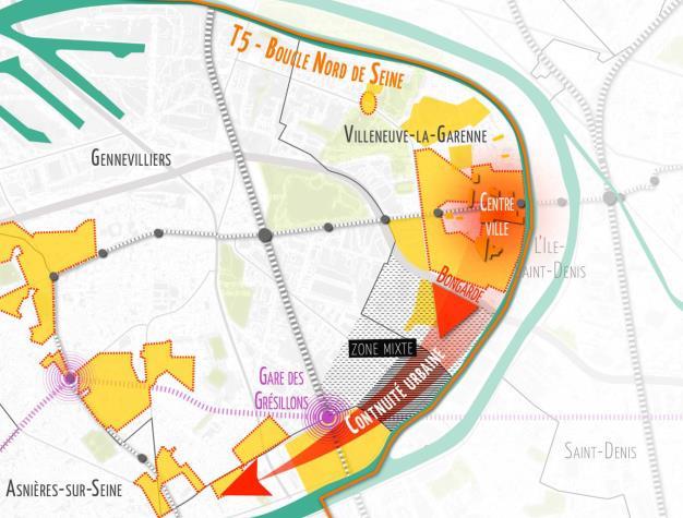Programmation du projet Village Bongarde à  Villeneuve-la- Garenne(92)