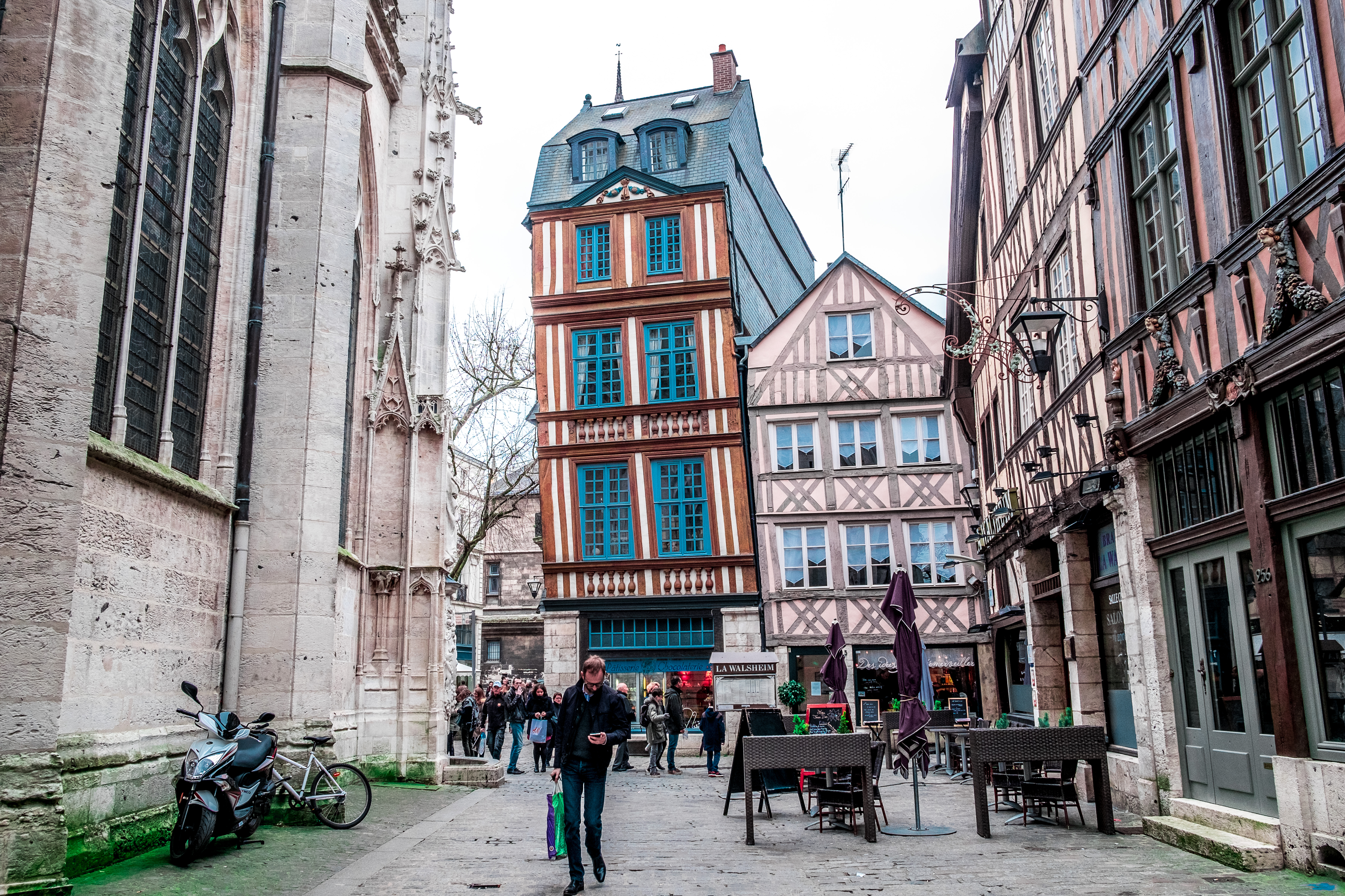 Mise en valeur du centre historique de Rouen